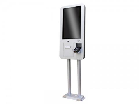 "IT-200 - Self-Ordering-Kiosksystem (Wand u. Stand) mit 23.9""-Bildschirm, Android, 2GB RAM, QR- und NFC-Lesegerät"