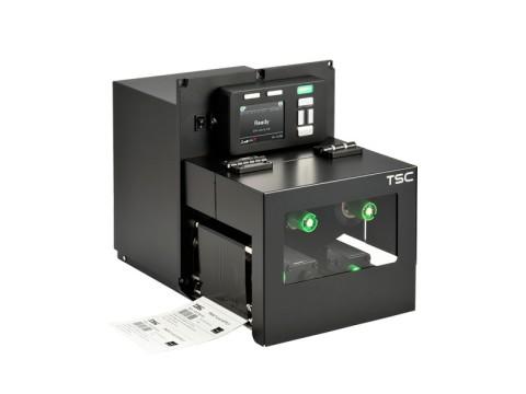 PEX-1120 - Stationäres Etikettendruck-Modul, thermotransfer, 203dpi, Druckgeschwindigkeit 457mm/Sek., USB + RS232 + Ethernet, linke Hand