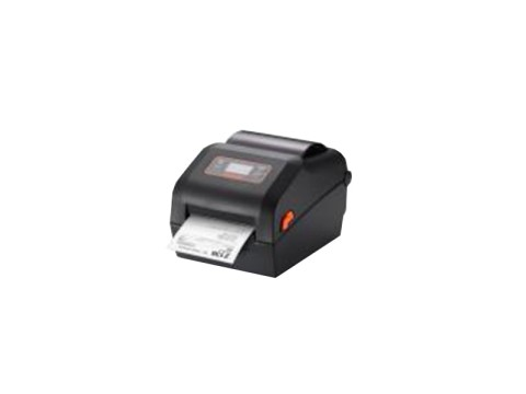 XD5-43d - Etikettendrucker, thermodirekt, 300dpi, LCD-Display, USB + USB Host + RS232 + Ethernet + Bluetooth, schwarz