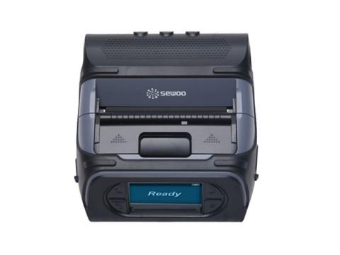 LK-P43IIN - Mobiler Thermo-Bon-/Etikettendrucker, 112mm Papierbreite, USB + RS232 + Bluetooth (Android/IOS)
