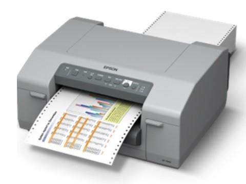 GP-C831 - Farb-Tintenstrahldrucker mit Traktoreinzug für Endlosdrucke, USB + LAN