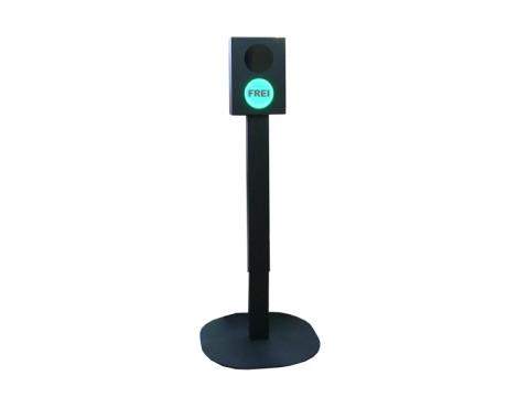 C-Ampel - Corona-Einlasskontrolle, Personenzähler für Shops etc., individuell einstellbar, kontaktlos, mit akustisches Signal