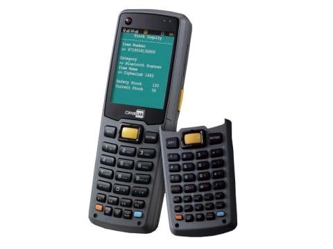 8630 - Mobiler Computer mit WLAN, Bluetooth und 2D-Barcodescanner und 29 Tasten inklusive Akku und Handschlaufe