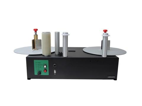 PM-300-LS Reel-to-Reel, dualer Etikettenauf-/-Abwickler für opt. Druckmechanik, niedrige Geschwindigkeit Version