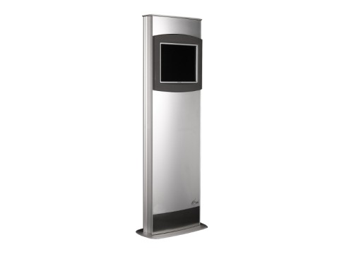 "IT-310-19 - Kiosk-Informations-System (Stele) mit kapazitivem 19"" (48.26 cm) Touchmonitor, ohne PC"