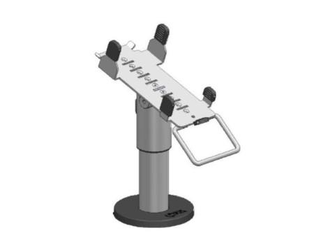 SpacePole - EC-Karten Terminal Halterung, schwarz für Verifone VX680 und CCV Mobile