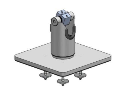 OpenSpace - DuraTilt, freistehende Basis, Neigung und Rotation