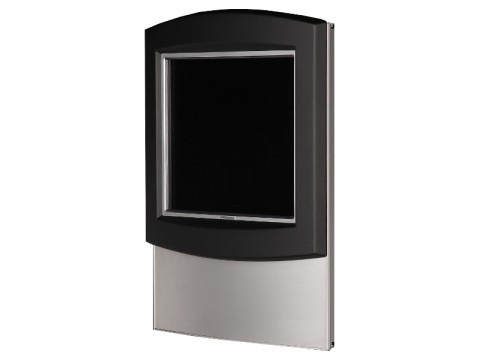 "IT-710-19 - Kiosk-Informations-System (Wandaufhängung) mit 19"" SAW-Touchmonitor, ohne PC"