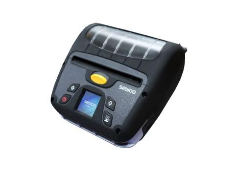 LK-P400 - Mobiler Thermo-Bon-/Etikettendrucker, 112mm Papierbreite, USB + Bluetooth + Wi-Fi