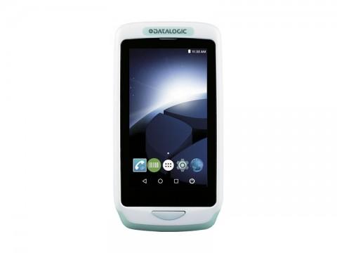 Joya Touch A6 HC Handheld - Mobiler Computer mit weißem 2D-Imager, Android 6, weiß-grün
