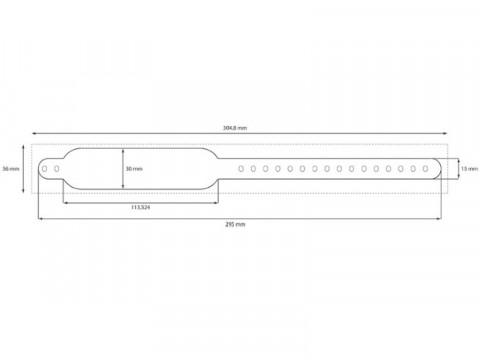 Safe-PB - Clip Schnellverschluß Armbänder Premium in weiß