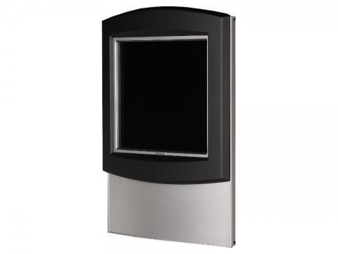 "IT-710-19 - Kiosk-Informations-System (Wandaufhängung) mit 19"" SAW-Touchmonitor, ohne PC"