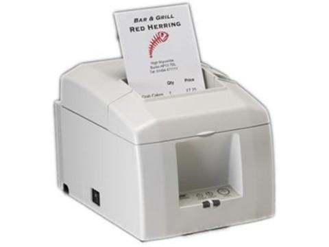 TSP654IIE-24 - Bon-Thermodrucker mit Abschneider, Ethernet-KIT, weiss