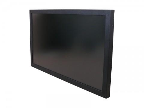 """OFT-2700B-S - 27"""" Widescreen Open Frame TFT (Einbau-/Industriemonitor) mit SAW Touch und Sicherheits-Front, RS232 + USB, VGA + DVI"""