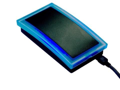 RFID Desktop Leser UHF mit Anschluss USB, schwarz
