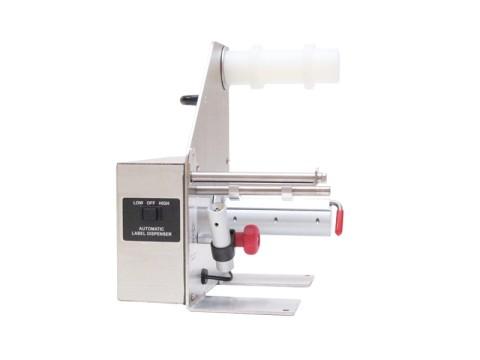 LD-100-U-SS - automatischer Etikettenspender, Edelstahl-Gehäuse, Etikettenbreite bis zu 115mm,