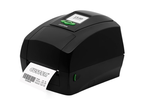D4-202 - Etikettendrucker, Thermotransfer, 203dpi, USB + RS232, Display, schwarz