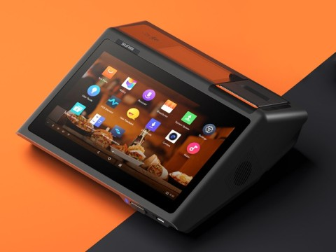 "D2 mini - Touchsystem, 10.1"" Widescreen Display, 4.3"" Kundendisplay, 58mm Bondrucker, Android 8.1, NFC, microSD"