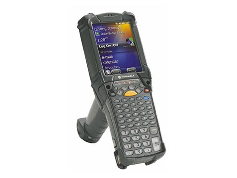 MC9200 Standard - Handheld Mobile Computer, 2D-Imager Long Range, 28 Tasten, Windows CE 7.0