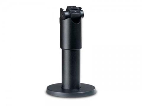 Standrohr (inkl. Kippgelenk für Tablet Halterung und Tischbefestigung), Höhe 120mm, schwarz