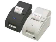 TM-U220B - Bon-Nadeldrucker, Ethernet, schwarz, mit Abschneider