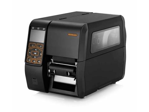 XT5-43 - Etikettendrucker, thermotransfer, 300dpi, USB + RS232 + Ethernet + 2 USB Host Ports, Aufwickler, schwarz