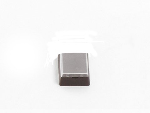 zusätzliche 1x1 Taste für PKB-111-B Kassentastatur **schwarz**