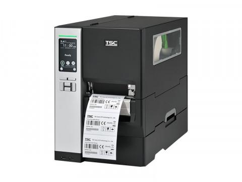 MH240P - Etikettendrucker, thermotransfer, 203dpi, USB + RS232 + Ethernet, interner Aufwickler