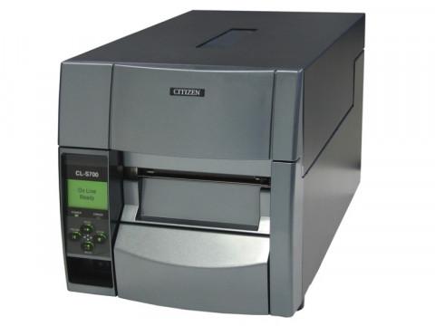 CL-S700DTII - Etikettendrucker, thermodirekt, 203dpi, USB + RS232, grau