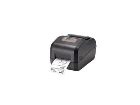 XD5-43t - Etikettendrucker, thermotransfer, 300dpi, LCD-Display, USB + USB Host + RS232 + Ethernet, schwarz