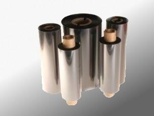 Farbband - Wachs, grau, 300m x 60mm, 1 Zoll-Kern, Innenwicklung