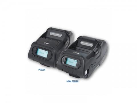 LK-P12II - Mobiler Thermo-Bon-/Etikettendrucker, 58mm Papierbreite, USB + RS232 + WLAN (b/g/n), Etikettenspender