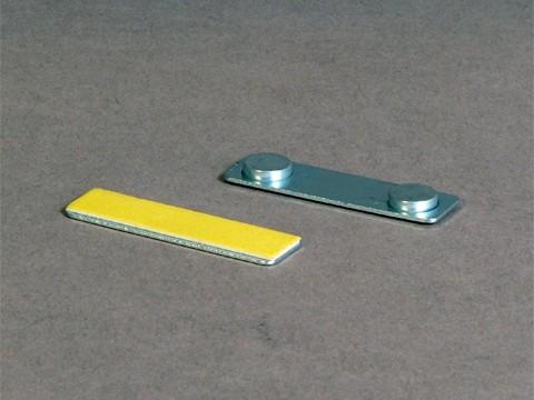 Kartenhalter für Plastikkarte mit Magnetfixierung (z.B. als Namensschild) (VPE 50 Stk)