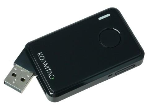 KDC20i - Datensammler mit Laserscanner, USB + Bluetooth, schwarz - MFi für IPhone und IPad