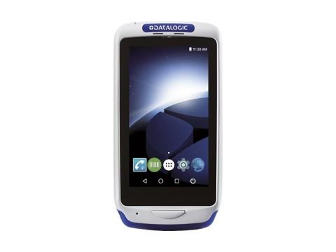 Joya Touch A6 Handheld - Mobiler Computer mit weißem 2D-Imager, Android 7.1 Nougat, grau-blau