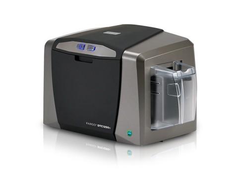 DTC1250e - Einseitiger Farbkartendrucker, USB