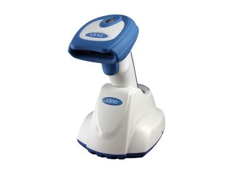 FuzzyScan F780BT-HC - Funk-CCD-Scanner für das Gesundheitswesen, USB-KIT, weiss