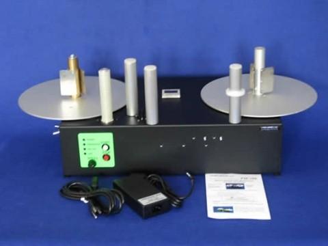 PM-300-HS Reel-to-Reel, dualer Etikettenauf-/-Abwickler für opt. Druckmechanik