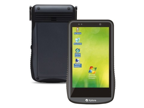 "DT4000W Xplore - Robustes Enterprise PDA mit NFC(13.56MHz), kapazitivem 4,3"" Touchdisplay und Windows Embedded Compact 7"