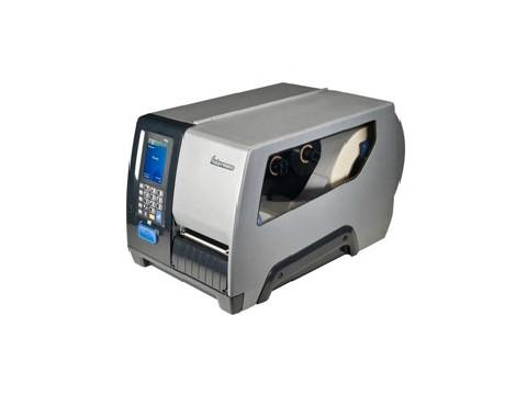 PM43 - Thermotransfer Etikettendrucker mit 203 dpi, Touch, Hanger, Ethernet, RS-232, USB inkl. EU-Netzkabel