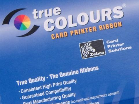 Monochrome Farbband, Scratch-Off, Grau, 840 Drucke für Zebra P330m