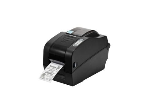 SLP-TX220 - Etikettendrucker, thermotransfer, 203dpi, USB + RS232 + Ethernet, dunkelgrau