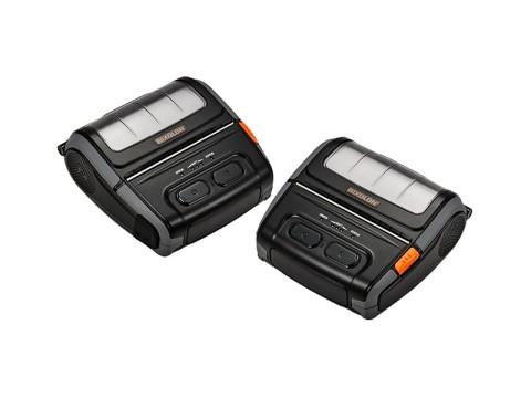 SPP-R410 - Mobiler Thermodirekt-Bondrucker, 112mm, USB + RS232 + Bluetooth (auch für iOS-Geräte), extra durchlässiger Sensor, schwarz