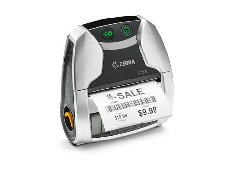 ZQ320 - Mobiler Beleg- und Etikettendrucker, max. Druckbreite 72mm, USB + Bluetooth 4.0 + WLAN