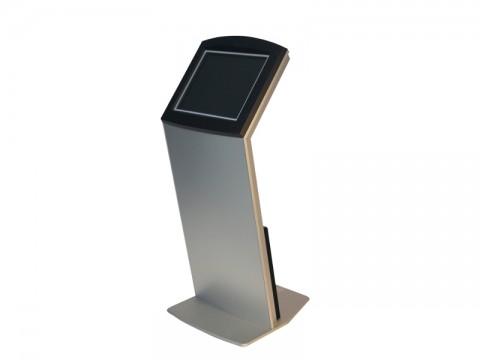 "IT-410-19 - Kiosk-Informations-System (High Info Desk) mit kapazitivem 19"" (48.26 cm) Touchmonitor, ohne PC"