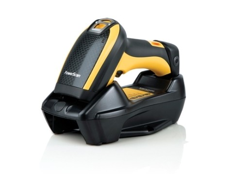 PowerScan PBT9501-SR - Kabelloser 2D-Imager, Standard Reichweite, Bluetooth, USB + RS232 + KBW