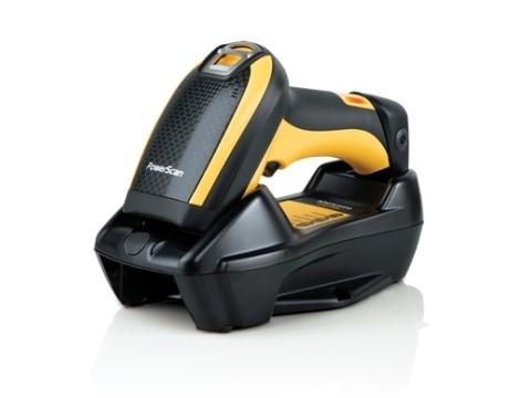 PowerScan PBT9501-AR - Kabelloser 2D-Imager, Auto Range, Bluetooth, USB + RS232 + KBW