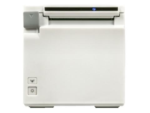 TM-m30IIF - Bon-Thermodrucker, 80mm, Fiscal DE Zertifikatslaufzeit 5 Jahre, USB + Ethernet + WLAN, weiss