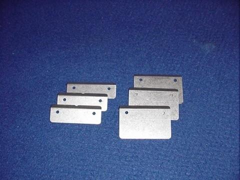 """VANES 40 - Kern-Flügelräder (3 Stück) für 40mm-Kern für Standard Shaft und 10"""" Shaft"""
