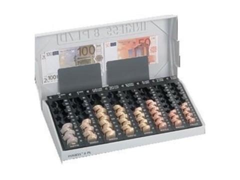 Stülpdeckel mit 2 Banknotenklappen für REKORD 8 PL
